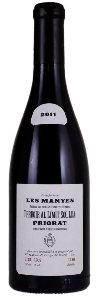 2011 Les Manyes, Terroir al Limit