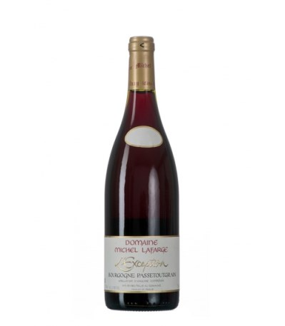 2014 Bourgogne Passetoutgrains l'Exception, Michel Lafarge