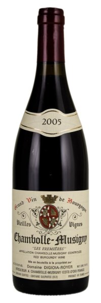 2005 Chambolle Musigny Vieilles Vignes Les Fremières, Digioia-Royer